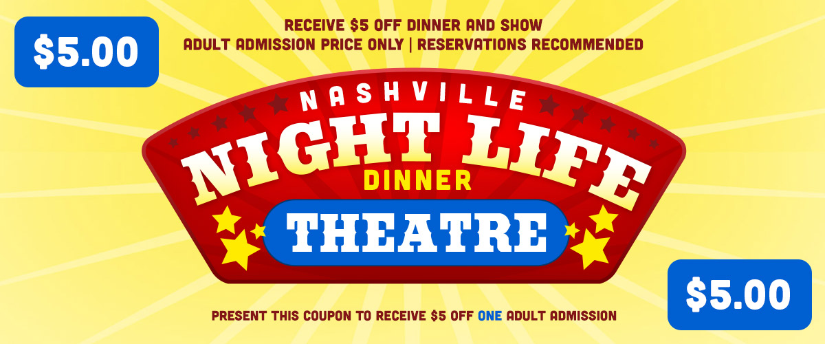 Dinner show coupon